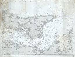 Online Nautical Charts Canada The Gulf Of St Lawrence Sheet Ix Eastern Part Of