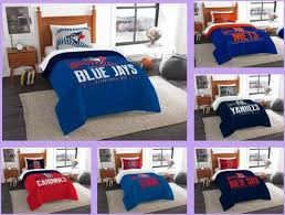 mlb licensed 2 piece twin comforter sham bed set in a bag choose team