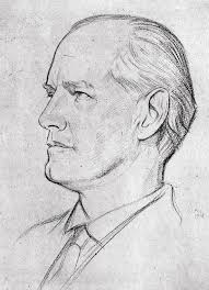 John Galsworthy (1867-1933) Drawing by Granger