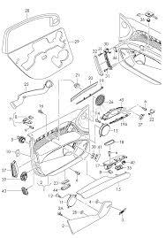 Individual parts door trim panels d audi q7 aq7 usa 2007 year