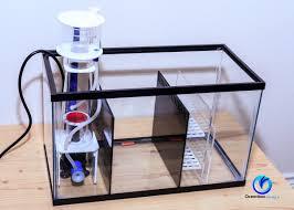 dlux sump kit for 10 gallon aquarium black clear