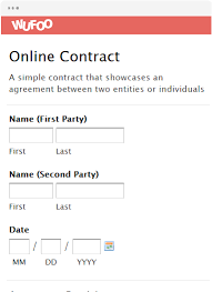 Online Contract Form - Koto.npand.co