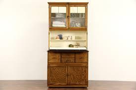 Hoosier Kitchen Cabinet Hygena English 1930s Oak Vintage Hoosier Kitchen Cupboard Or