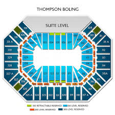 Pbr Thompson Boling Arena Seating Chart Pbr Professional Bull Riders Sat Feb 1 2020 Thompson