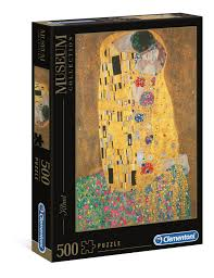 Klimt - Il Bacio - 500 teile - Museum Collection - Clementoni
