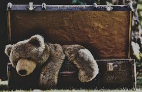 teddy bear bear toy sadness suitcase free stock photo image wallpaper