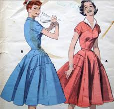 50s Dress Patterns