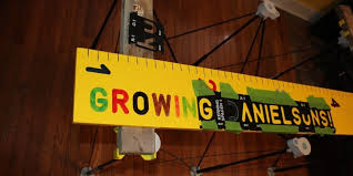 Gerber Growth Chart Wooden Growth Chart Project Track Their Height With Style
