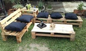 wooden pallet garden table furniture diy wood outdoor82 furniture