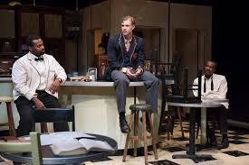 "review master harold and the boys a timely and powerful  andre sills james daly and allan louis in "" master harold and the boys"" photo david cooper"
