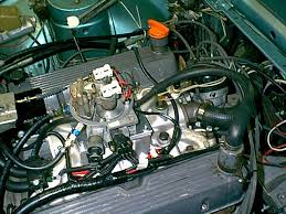 wedgeparts triumph tr8 gm throttle fuel injection tbi conversion