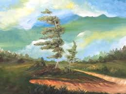 landscape painting in acrylics image 0 landscape acrylic painting tutorial for beginners