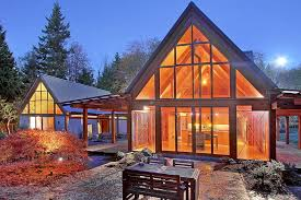 Small Picture Cabin Chic Mountain Home of Glass and Wood Cabin chic Cabin and
