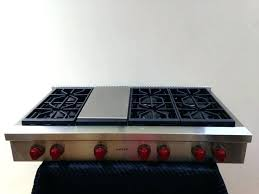 wolf gas stove top. Kitchenaid 48 Gas Cooktops Stove Top Grill Plate Range Griddle Wolf .