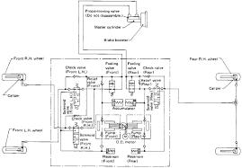 nissan s13 silvia 180sx 200sx abs hydraulic circuit diagram