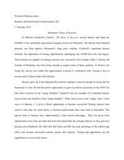 outline of the outliers homework assignment a his short 5 pages outliers of monsanto essay