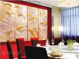 wall art ideas design harmony decorations 3d wall art panels installations red orange wooden canvas stained varnished dining table best 3d wall art panels