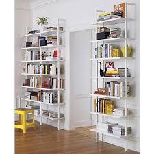 stairway white ladder bookcase
