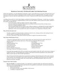 Family Responsibility Office Payment Chart Kutztown Universitys Preferred Lender List Selection Process