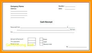 Receipt Template Doc 10 Cash Receipt Template Word Doc 1mundoreal