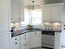 kitchen ideas white cabinets black countertop. White Kitchen Backsplash Ideas For Cabinets Black Countertops . Countertop S