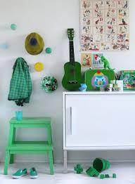 Green Ikea Bekvam Step Stool For Kids Room