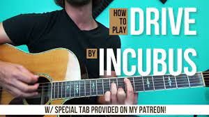 Drive - Incubus | Acoustic Guitar Lesson - YouTube