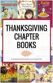 thanksgiving chapter books for kids ages 5 and up