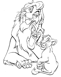 Simba And Scar Coloring Pages 2019 Open Coloring Pages