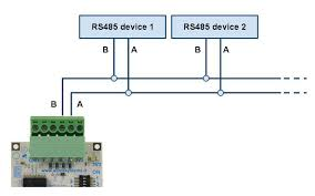rs485 dip switch setup