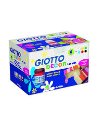 <b>Giotto</b> decor acrylic <b>акриловые краски</b> 25мл. 6цв. Fila. 3227400 в ...