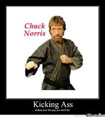 Ass chuck kick norris