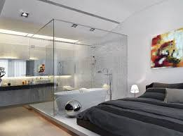 bathroom romantic grey bedroom ideas white wall paint glass showre cabin partition walls gray bedlinen