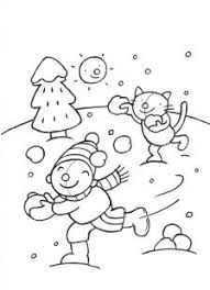 Kleurplaten Pompom Winter Brekelmansadviesgroep