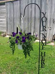 shepherd hook personalized with your