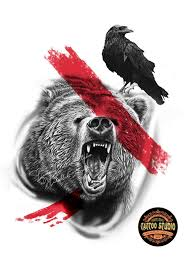 эскиз медведь трэш полька поиск в Google медведи трэш полька