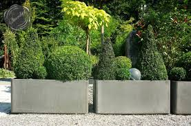 commercial outdoor planters  home design styles