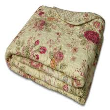 Greenland Home Antique Rose Accessory Throw Blanket