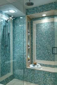 glass tile shower walk in shower ideas services glass tile shower floor slippery