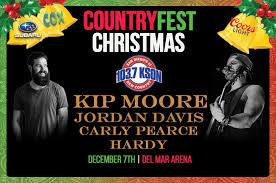 Countryfest Christmas Dec 7 Del Mar Arena Kson Fm 103 7