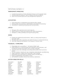 Leadership Skills Resume Stunning List Of Good Skills To Put On A Resume Examples As Well As Cover