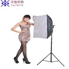 photography lighting kit studio softbox photography light set tetralogy lamp lights soft light clothes portrait