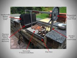 parrilla grill inserts asado outdoor grill inserts