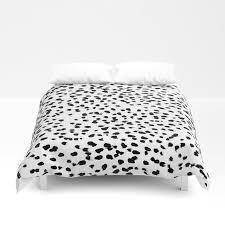 nadia black and white animal print dalmatian spot spots dots