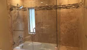 corner frameless basco ove glass sweep shower seal single menards dreamline tub charming sterling doors