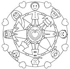 Small Picture Mandala Coloring Pages KidsKids Coloring Pages
