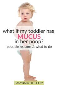 toddler with mucus possible