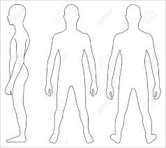 female body outline template human body outline 17 free sample example format download