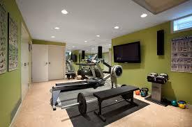 home gym diy home gym midcentury with cork floor cork floor