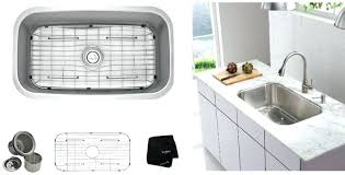 single bowl gauge stainless steel kitchen sink with garbage disposal wont drain jammed motor